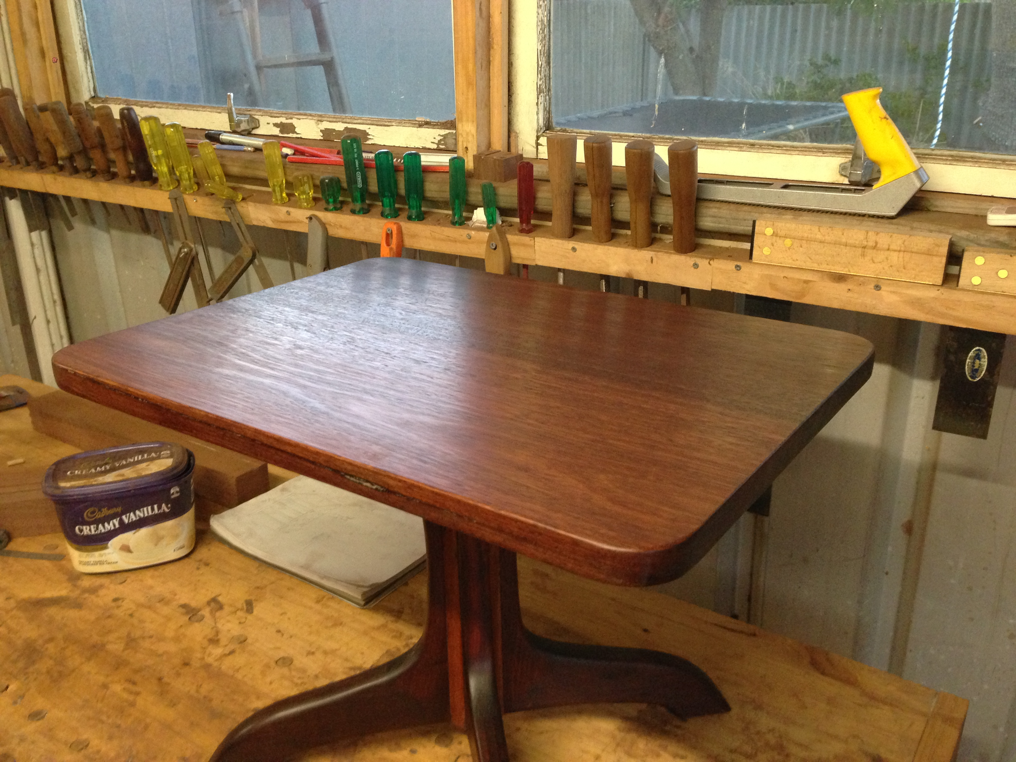 jarrah dining table plans